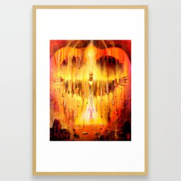 'Fire of Transformation' Framed Art Print