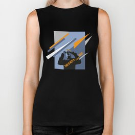 Eighties mood, it's not a love song! Biker Tank