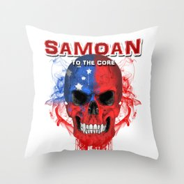 To The Core Collection: Samoa Throw Pillow