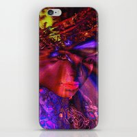 """princess iPhone & iPod Skins featuring """" Princess """" by shiva camille"""