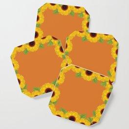 Sunflowers Coaster