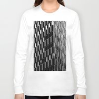 dallas Long Sleeve T-shirts featuring Building8 Dallas by SarahGW