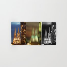 cologne cathedral Hand & Bath Towel
