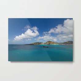 Carribbean Cove Metal Print