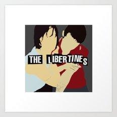 The Libertines Digital Print Art Print