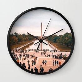 Washington DC View 1 Wall Clock