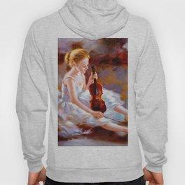 Oil Painting - Ballet Hoody