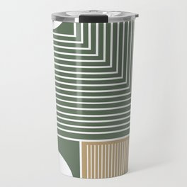 Stylish Geometric Abstract Travel Mug