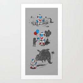 Mr. Dug alternatives jobs Art Print