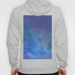 Diamond sky stars colour 2018 s6 coloured art style hot trend popular Hoody