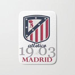 Atletico Madrid club football Bath Mat