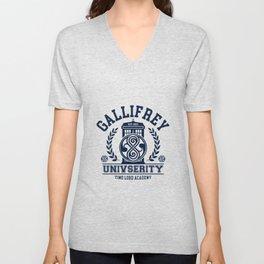 Gallifrey University Unisex V-Neck