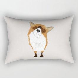 Adorable Fox Rectangular Pillow