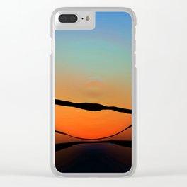 Colorful Bright Modern Art - Eternal Light 2 - Sharon Cummings Clear iPhone Case