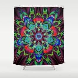 Decoder Shower Curtain