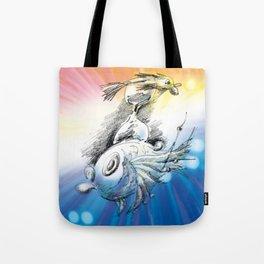 Time Fish Tote Bag