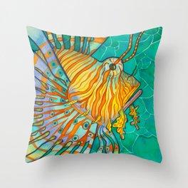 Beautiful Sting Throw Pillow