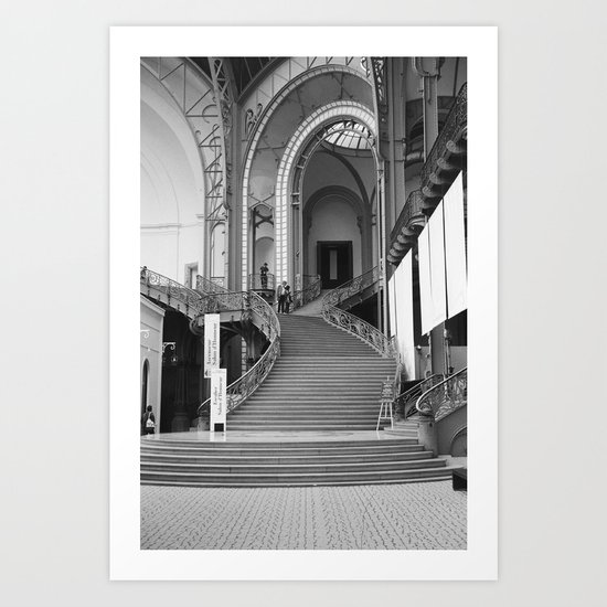 PARIS VIII - GRAND PALAIS Art Print