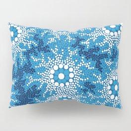 Authentic Aboriginal Art - Waterhole Dreaming Pillow Sham