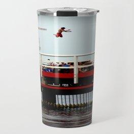 Takin A Dive Travel Mug