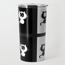 Cat and Mouse Travel Mug