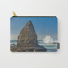 A rock formation on the Costa Vicentina, Portugal Carry-All Pouch