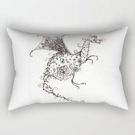 Garden Dragon Rectangular Pillow