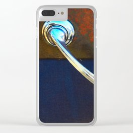 Classic Knobs Clear iPhone Case