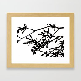 orchid Framed Art Print