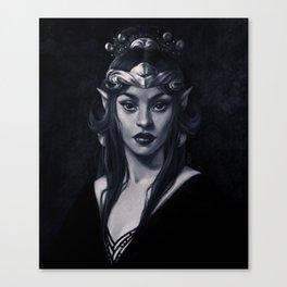 Elven Queen Canvas Print