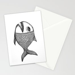 ancient fish Stationery Cards
