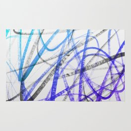 Expressive and Spontaneous Abstract Marker Rug