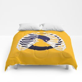 Alien Chest Burst Comforters
