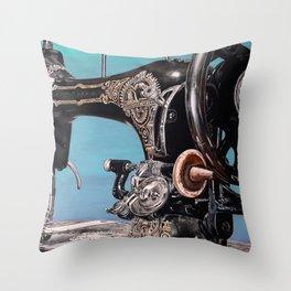 The Machine VII Throw Pillow