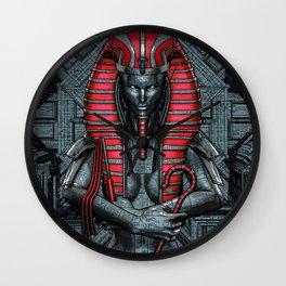 Sacred Dark Queen Wall Clock