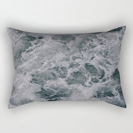 Stormy Seas Rectangular Pillow