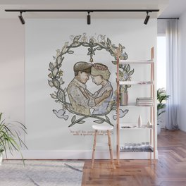 """Illustration from the video of the song by Wilder Adkins, """"When I'm Married"""" (no names on it) Wall Mural"""