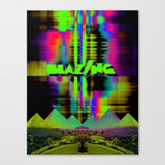 Blazing Canvas Print