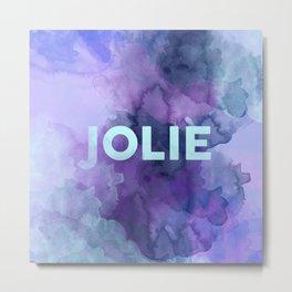 Jolie Metal Print