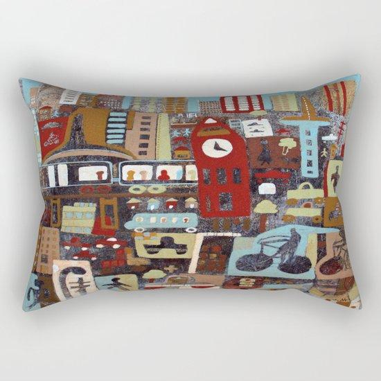 City, City Rectangular Pillow
