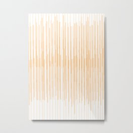 Abstract vertical stripes pattern Metal Print