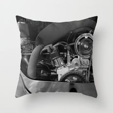 Volkswagen Beetle engine Throw Pillow