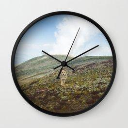 Shepherd Dog Wall Clock