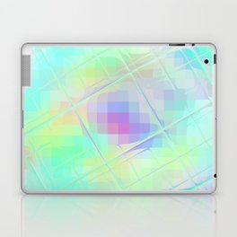 Re-Created Twisted SQ XXXII by Robert S. Lee Laptop & iPad Skin