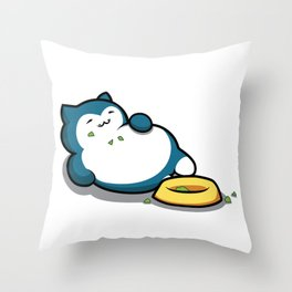 Snorlax Throw Pillow