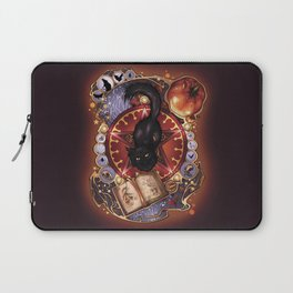 Black Cat Magic Laptop Sleeve