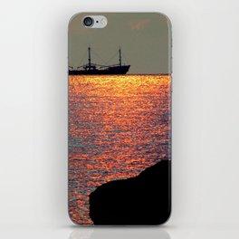 Sunset in Curacao iPhone Skin