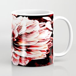 Strawberry Coated Flower Coffee Mug