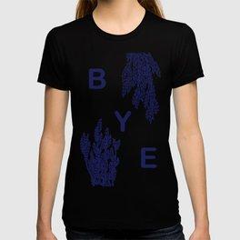 BYE - blue T-shirt