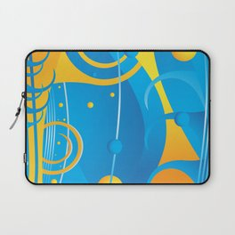 Abstract vector Laptop Sleeve
